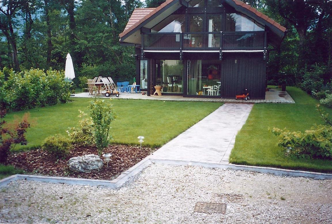 Pichon paysagiste en pays de gex ain 01 cr ation paysag re for Amenagement jardin agrement